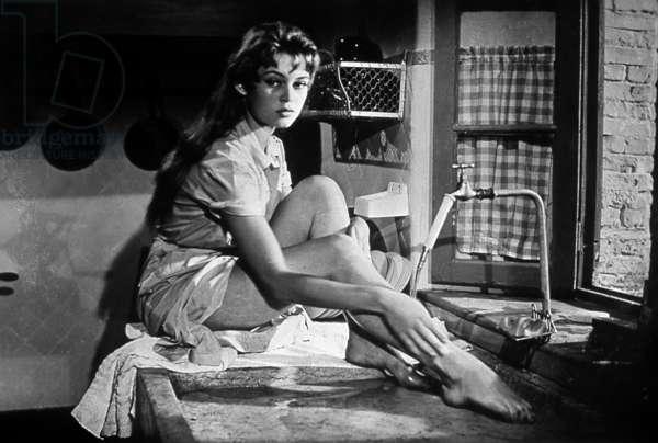 La lumiere d'en face The Light Across the Street de GeorgesLacombe avec Brigitte Bardot 1955