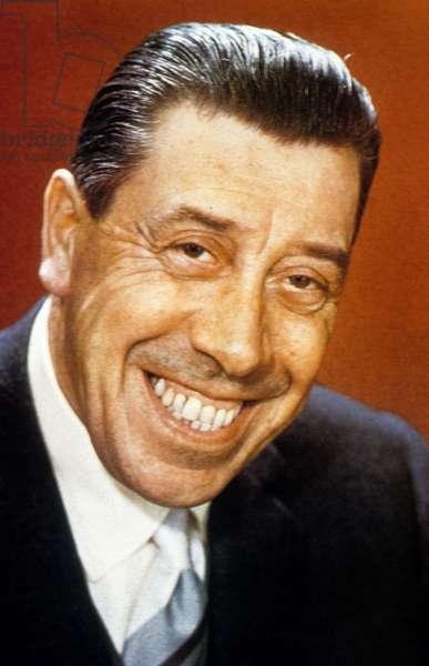 Fernandel (born Fernand Contandin, 1903 - 1971), French Singer, Actor and film director.