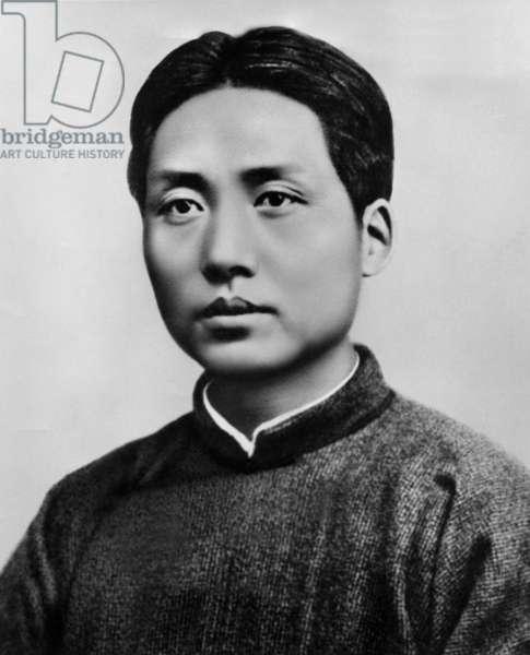 young Mao Tse Zedong (1893-1976), July 1921