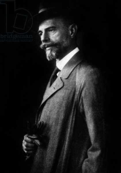 Hugo Becker (1863-1941) German composer and cellist c. 1920