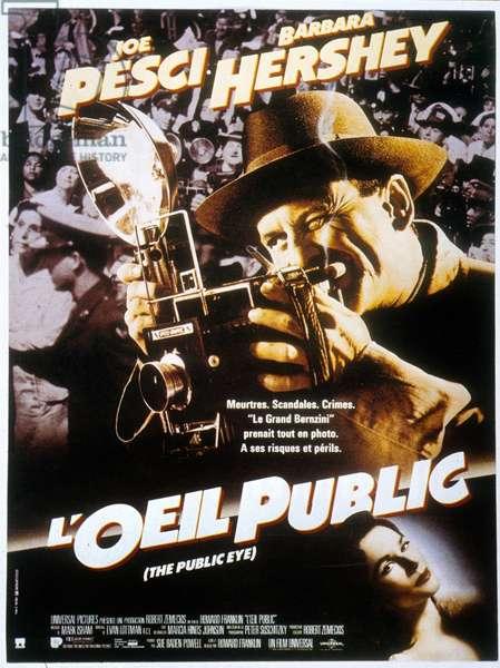 L'Oeil public (The Public Eye) de Howard Franklin avec Joe Pesci en 1993