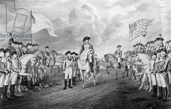 Cornwallis troops submitting to Yorktown October 19, 1781