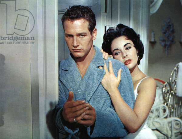 La chatte sur un toit brulant Cat on a Hot Tin Roof de RichardBrooks avec Elizabeth Taylor et Paul Newman 1958