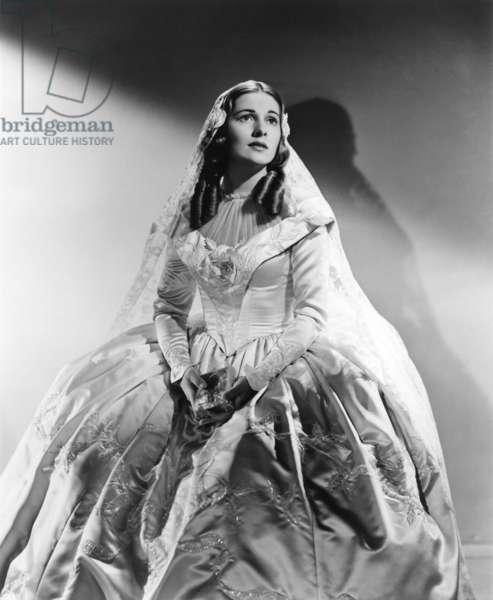 Jane Eyre de RobertStevenson avec Joan Fontaine, 1944 (d'apres Charlotte Bronte)