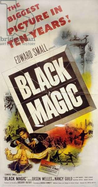 Cagliostro Black Magic de GregoryRatoff et OrsonWelles avec Orson Welles 1949