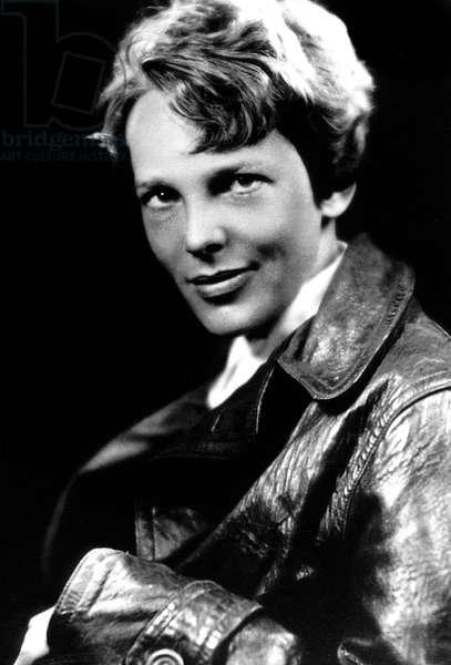 Amelia Earhart (1898-1937) American pilot, c. 1932