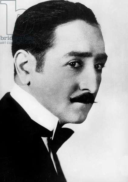 French Actor Adolphe Menjou (1890-1963) c. 1922
