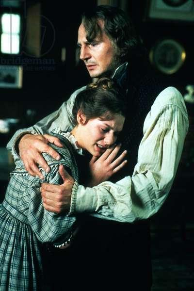 Les Miserables de BilleAugust avec Liam Neeson (Jean Valjean) et Claire Danes (Cosette) 1998 (d'apres VictorHugo)