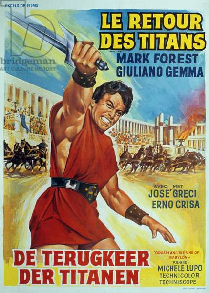 Le retour des titans de MicheleLupo avec Mark Forest 1963