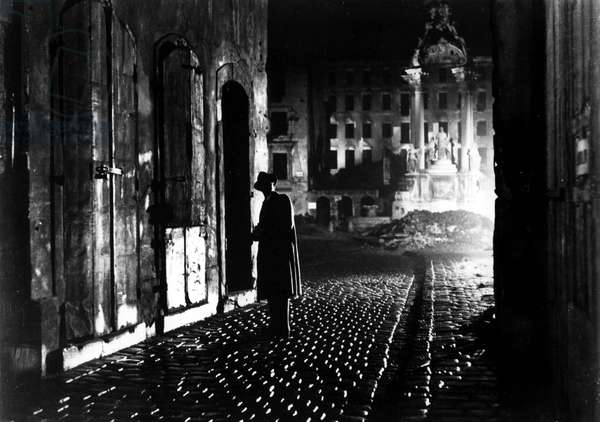 Film-still from 'The Third Man' (b/w photo)