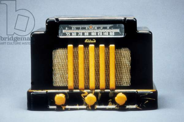 Radio Addison dans l'emission Bakelite.