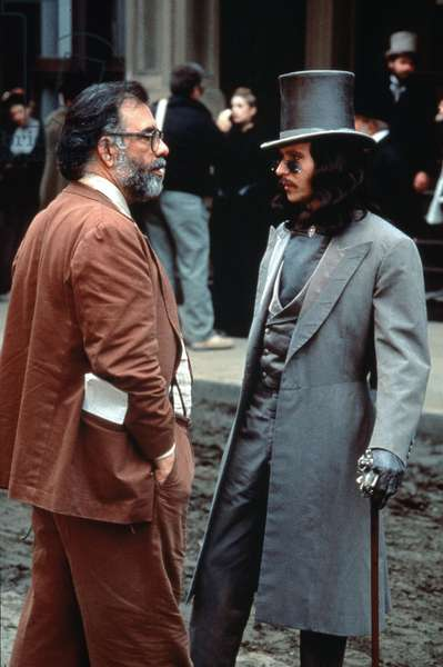 The director Francis Ford Coppola and Gary Oldman on the shooting of Dracula BRAM Stoker's DRACULA, 1992