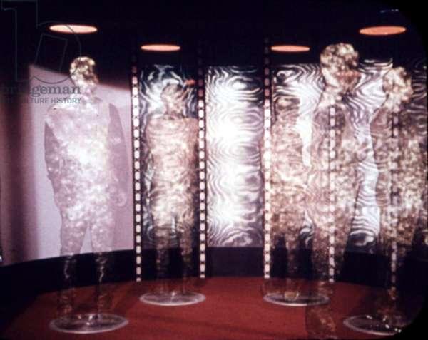 Série Star Trek 1966 - 1969: rematérialisation après dématérialisation sur transporteur