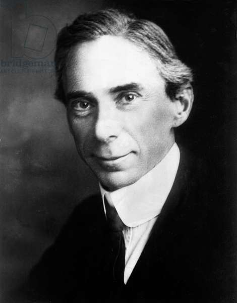 Bertrand Russell (1872-1970) English mathematician and philosopher