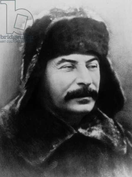 Josef Stalin (1879-1953) russian communist leader here in 1927