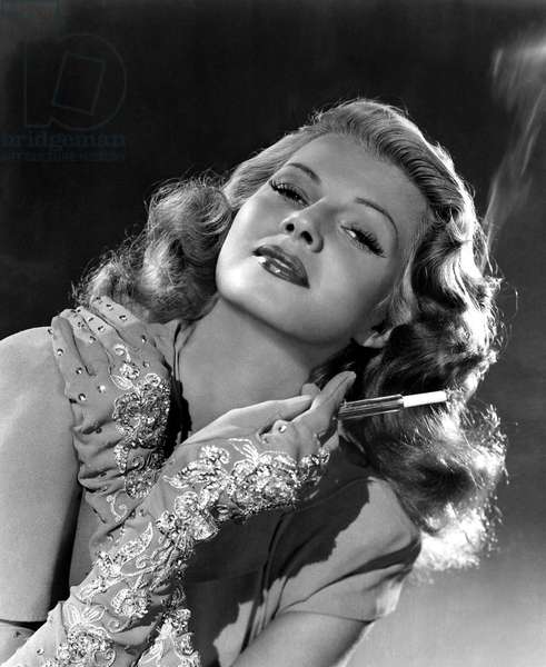 Actress Rita Hayworth (1918-1987) c. 1946