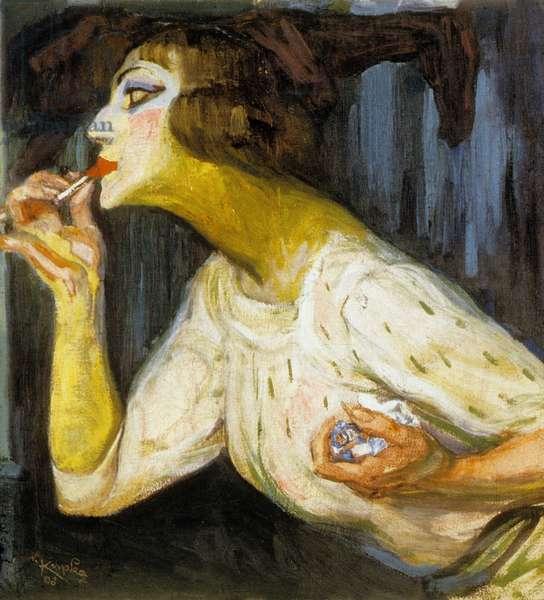 The Lipstick, 1908 (oil on canvas)