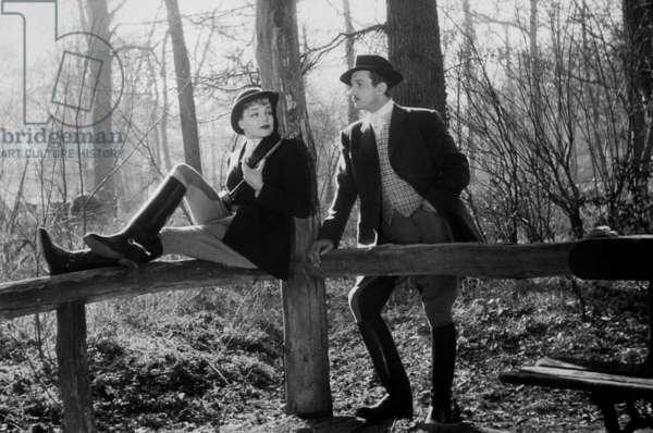 Maneges de Yves Allgret avec Simone Signoret 1949