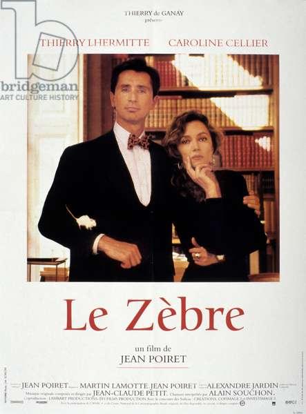 Le zebre de JeanPoiret avec Thierry Lhermitte et Caroline Cellier 1992