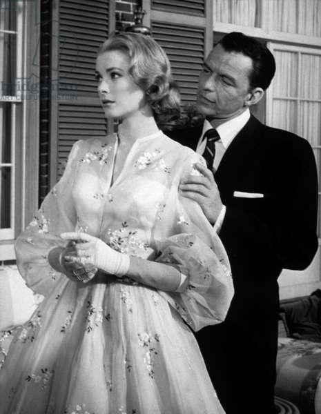 Haute Societe HIGH SOCIETY de CharlesWalters avec Grace Kelly et Frank Sinatra, 1956