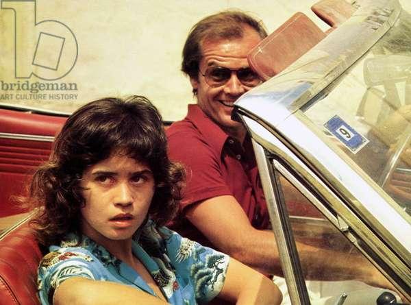 The Passenger by Michelangelo Antonioni with Maria Schneider, Jack Nicholson, 1975
