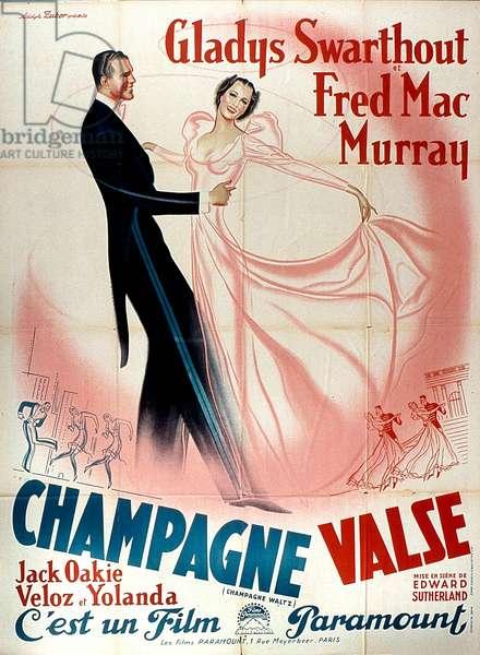 Affiche du film Valse Champagne de EdwardSutherland 1937