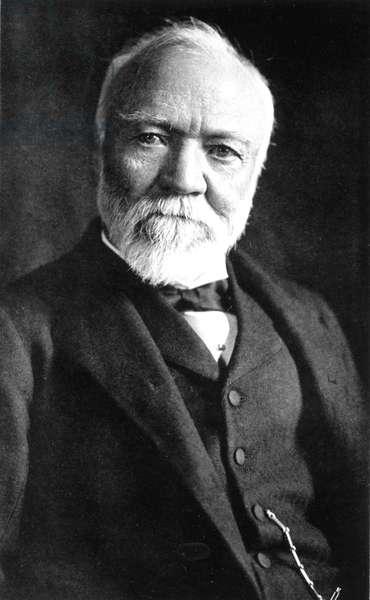 Andrew Carnegie (1835-1919) American industrialist here c. 1912
