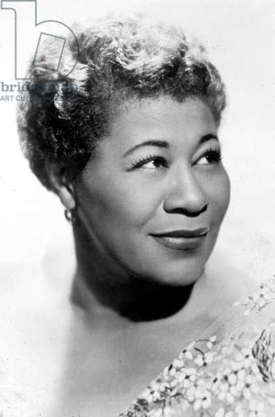 Ella Fitzgerald (1917 - 1996), Jazz Singer.