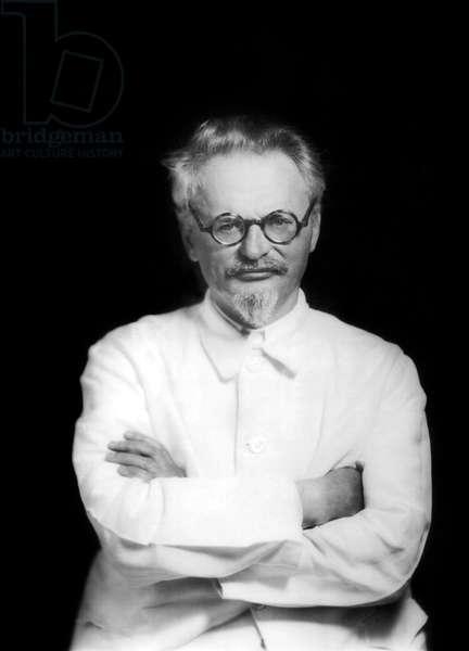 Leo Trotski (1877-1940) Russian Communist leader here c. 1935