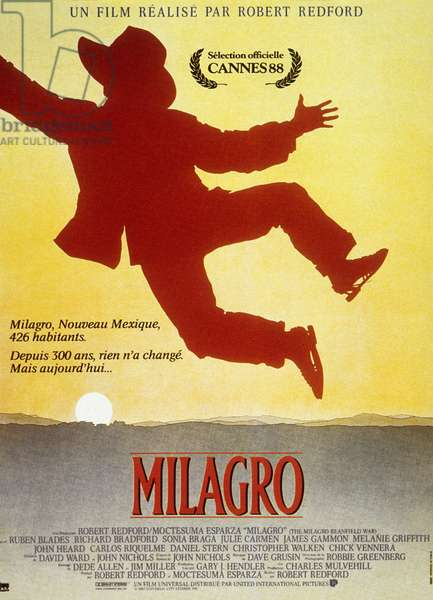 Milagro The Milagro Beanfield War de Robert Redford avec Christopher Walker et Sonia Braga 1987