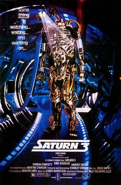 Saturn 3 de Stanley Donen avec Farrah Fawcett, Kirk Douglas, 1980
