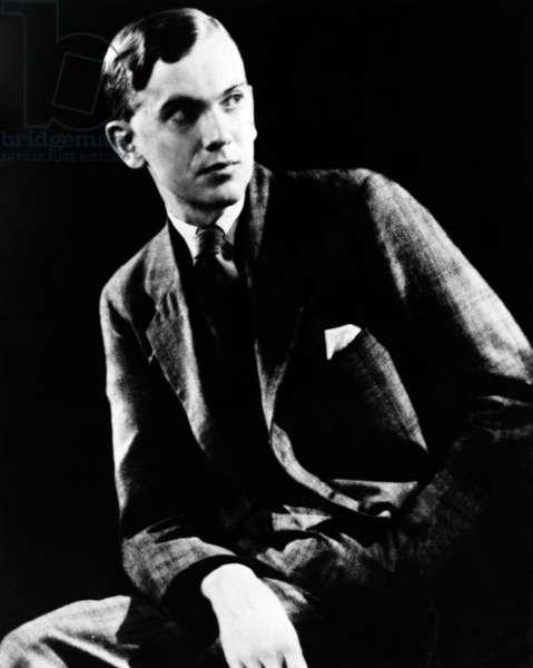 Graham Greene (1904-1991) English novelist and playwright, here c. 1935
