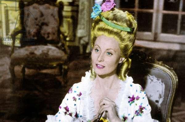 Marie Antoinette reine de France de JeanDelannoy avec Michele Morgan, 1956