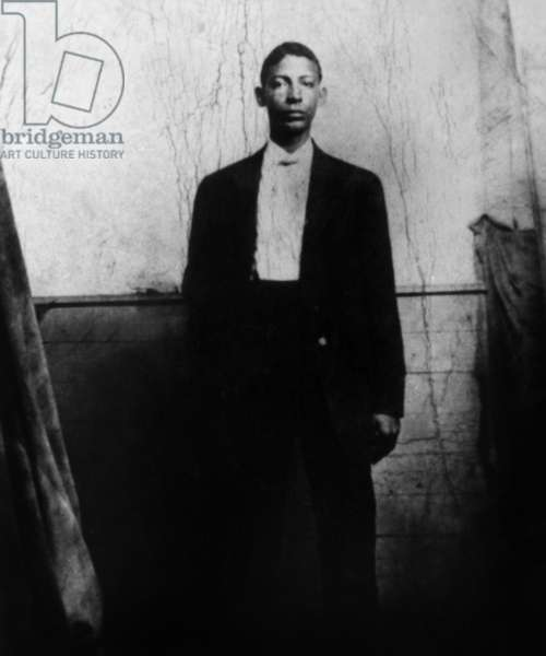 Jelly Roll Morton (1885/1890-1941, real name Joseph Ferdinand Lamothe), jazzman, c.1910