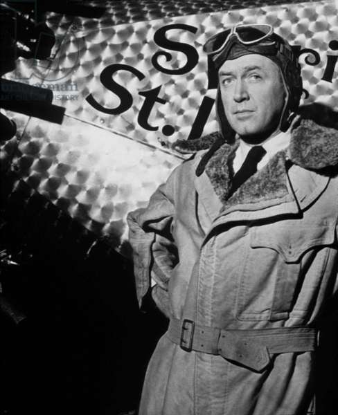 L' odyssee de Charles Lindbergh The spirit of Saint Louis avec James Stewart 1957