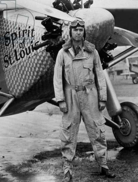 L' odyssee de Charles Lindbergh The spirit of Saint Louis avec James Stewart 1957
