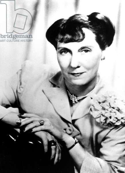 Marie Geneva (aka Mamie) Eisenhower (1896-1979) in the late 40's