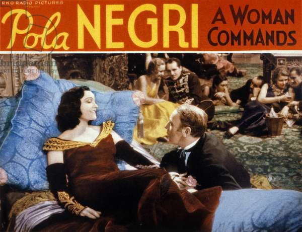 A Woman commands de Paul L. Stein avec Pola Negri, 1932