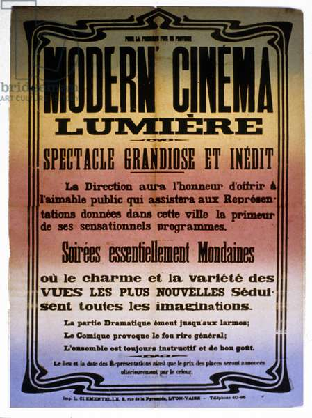 Affiche Modern Cinema Lumiere