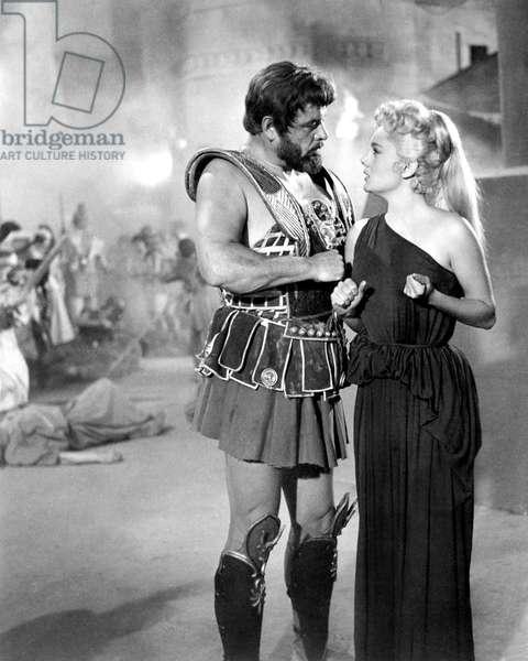 Helene de Troie HELEN OF TROY de RobertWise 1956 peplum soldat romain roman soldier