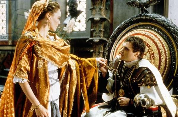 GLADIATOR de RidleyScott avec Connie Nielsen et Joaquin Phoenix (empereur Commode), 2000