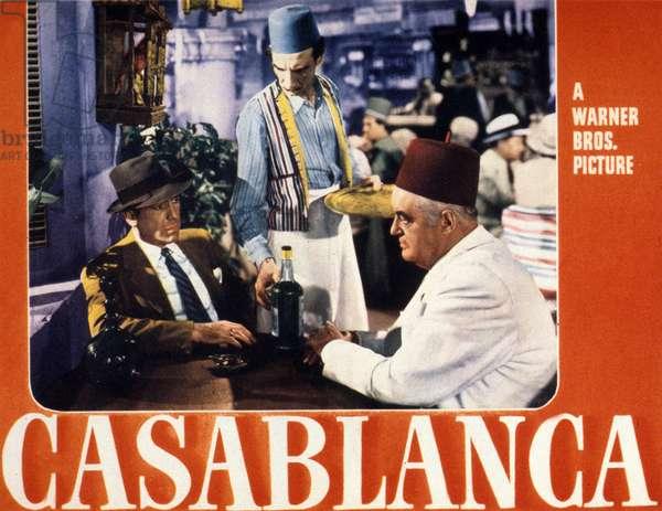 Casablanca de Michael Curtiz avec Humphrey Bogart et Sydney Greenstreet 1942