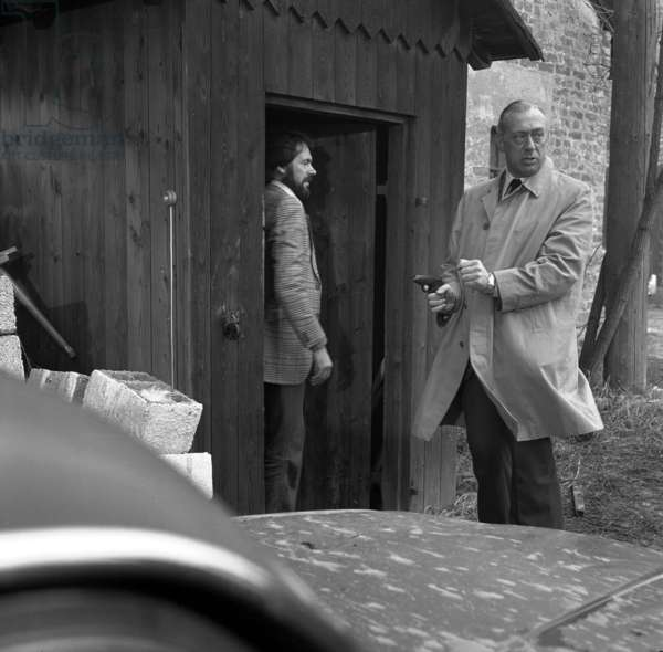 Serie televisee Inspecteur Derrick avec Horst Tappert, 1976