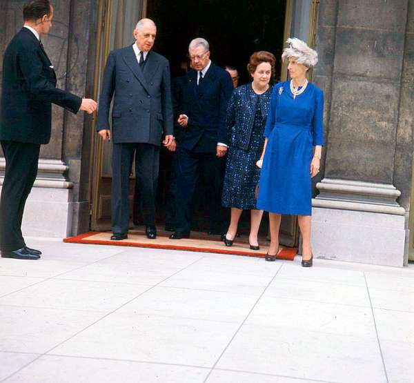 De Gaulle and the King of Sweden