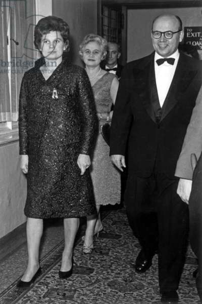 Valentina Tereshkova and Mr Soldatov