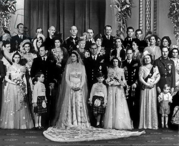 Marriage of Princess Elisabeth and Prince Philippe