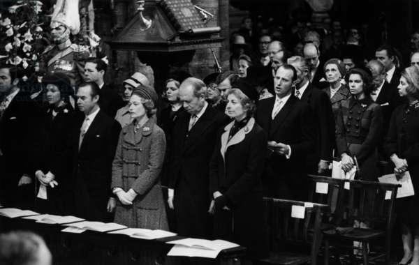 Silver Wedding of Queen Elizabeth II of England