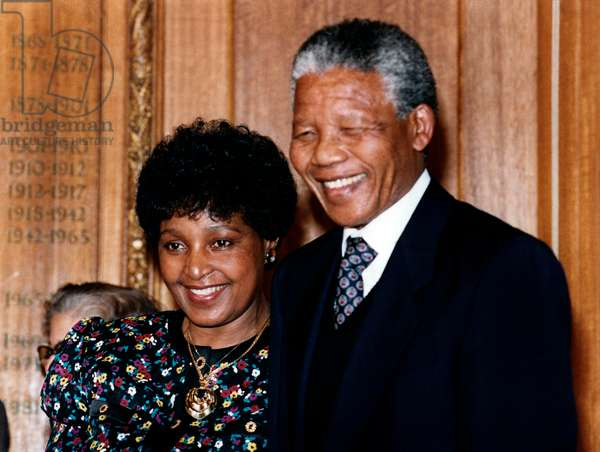 Winnie et Nelson Mandela