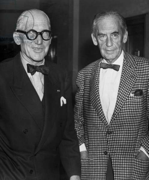 The Corbusier and Walter Gropius