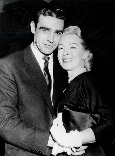 Sean Connery et Lana Turner